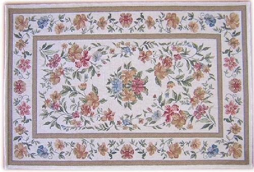 サラッと柔らかい足ざわりゴブランシェニール織り60×90cm2042